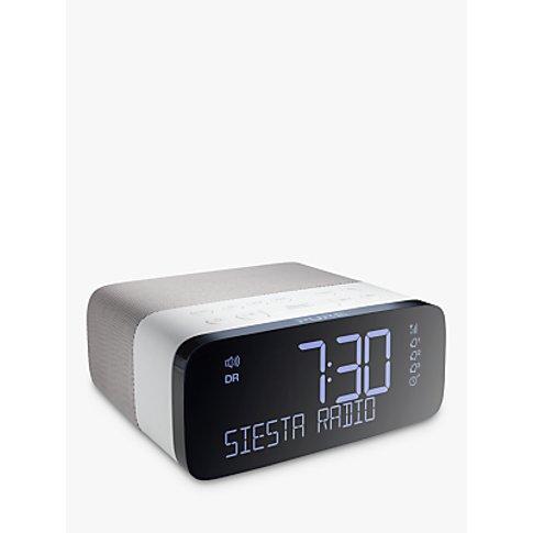 Pure Siesta Rise Dab/Fm Bedside Clock Radio