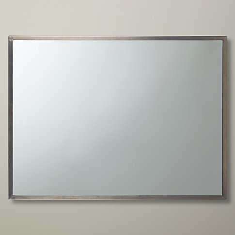 John Lewis & Partners Ivey Rectangular Wall Mirror, ...