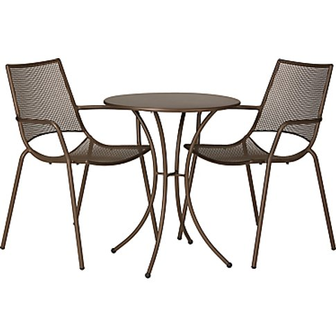 John Lewis & Partners Ala Mesh Garden Table and Chai...