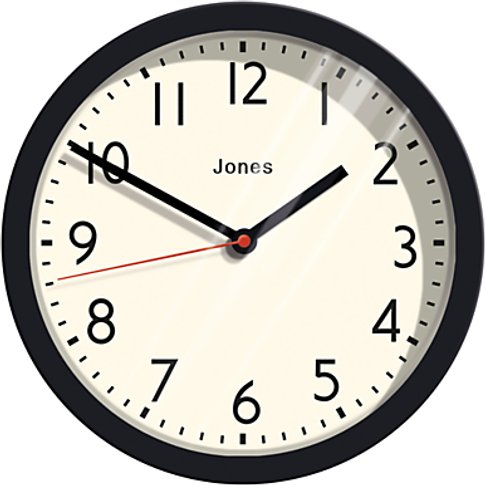 Jones Cosmos Wall Clock, Dia.25cm