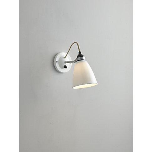 Original BTC Hector Dome Switched Wall Light, Medium...