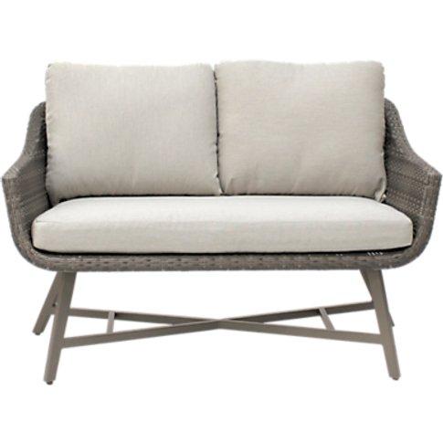 KETTLER LaMode Lounge 2-Seater Garden Sofa with Cush...