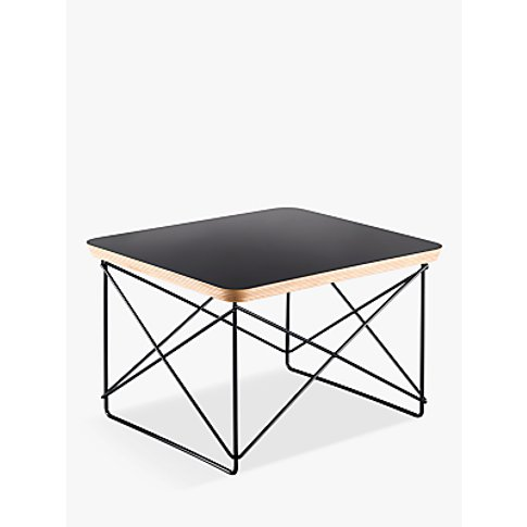 Vitra Eames Ltr Occasional Side Table, Black