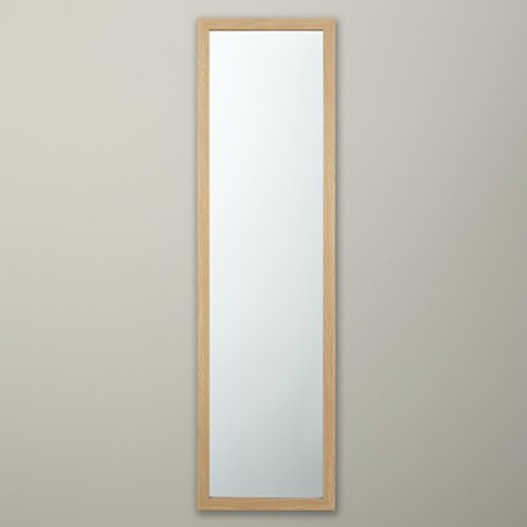 House By John Lewis Wood Effect Hall Mirror, 125 X 3...