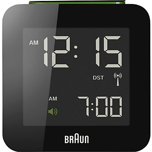 Braun Radio Controlled Global Alarm Clock