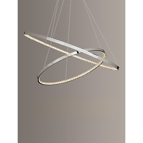 John Lewis & Partners Zephyr Led Dual Ring Pendant C...