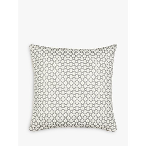 Croft Collection Weave Cushion, Blue Grey