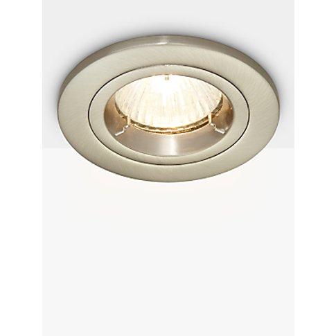 Saxby Recessed Shield Mv Tilt Spotlight