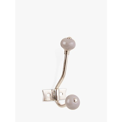John Lewis & Partners Ceramic Hat And Coat Hook