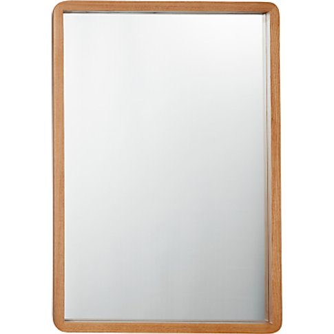 House By John Lewis Rounded Corner Mirror, 54 X 79cm...