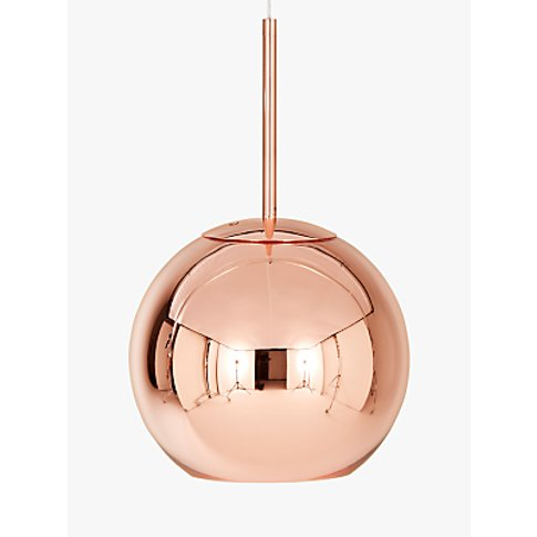 Tom Dixon Copper Round Ceiling Light, Dia.25cm