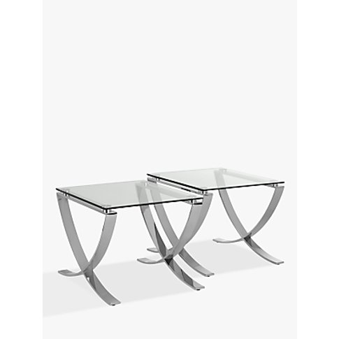 John Lewis & Partners Vienna Set Of Two Side Tables