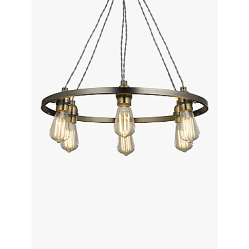 John Lewis & Partners Bistro Hoop Pendant Ceiling Li...