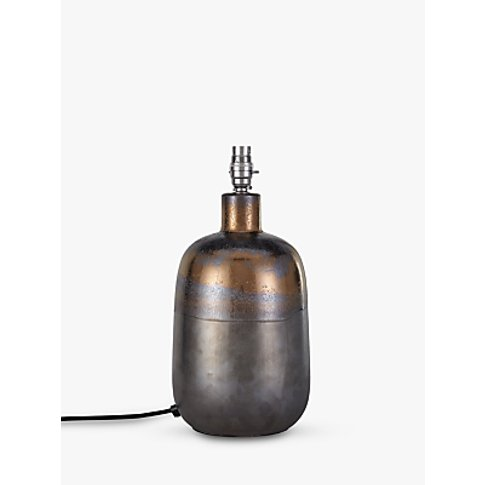 John Lewis & Partners Ember Metallic Ceramic Lamp Ba...