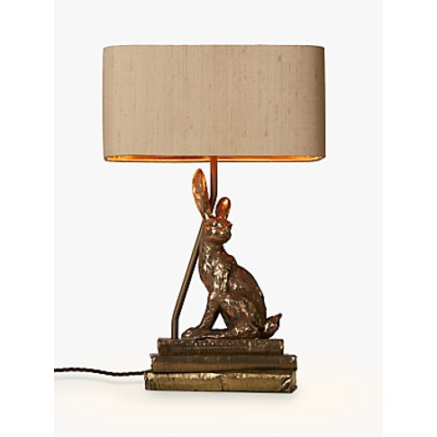 David Hunt Hare Table Lamp, Bronze