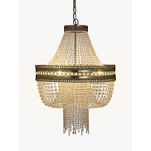 John Lewis & Partners Lucia Crystal Chandelier, Crys...