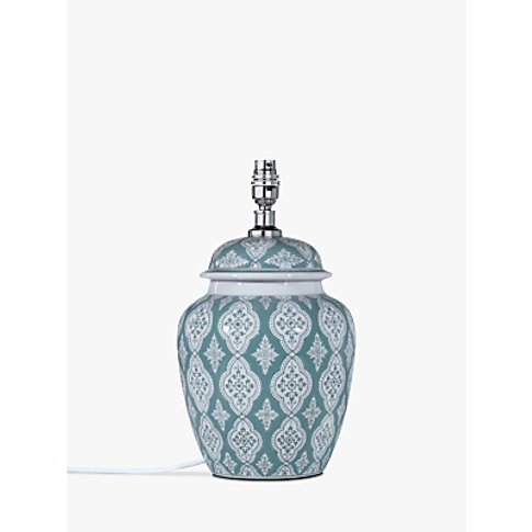 John Lewis & Partners Tamsin Ceramic Lamp Base, Gree...