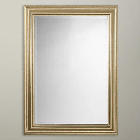 John Lewis & Partners Wilde Mirror, 114 X 83cm, Gold