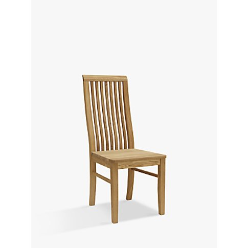 John Lewis & Partners Henry Wooden Seat Dining Chair