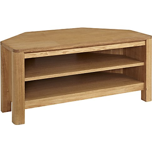 John Lewis & Partners Seymour Corner Tv Stand For Tv...