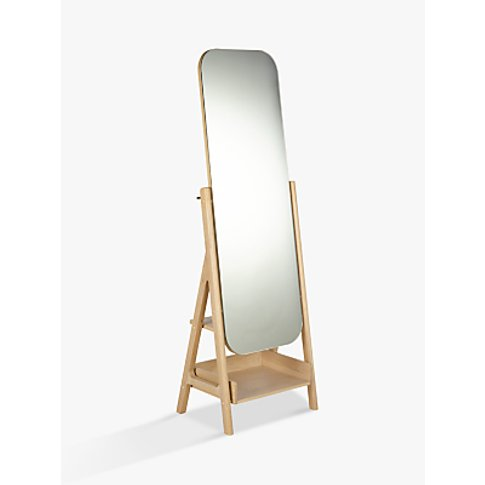 Design Project By John Lewis No.049 Mirror, Oak