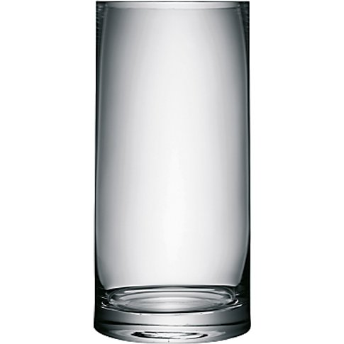 LSA International Column Vase, H36cm, Clear