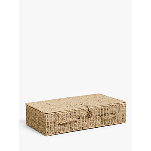 John Lewis & Partners Fusion Seagrass Under Bed Stor...