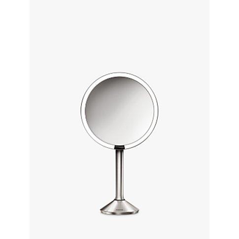 Simplehuman Sensor Pro Bathroom Mirror, Silver