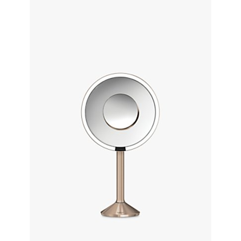 simplehuman Sensor Pro Bathroom Mirror, Rose Gold