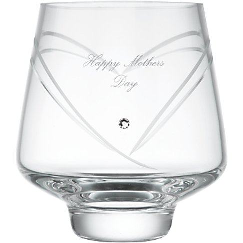 Dartington Crystal Personalised Romance Votive, Pala...
