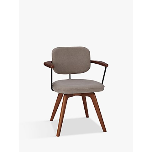 John Lewis & Partners Soren Office Chair, Grey/Brown