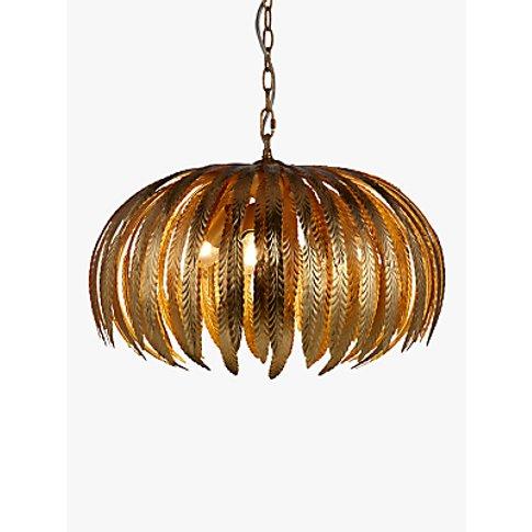 John Lewis & Partners Montserrat Leaf Ceiling Light,...