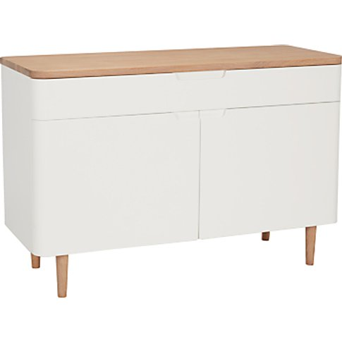 Ebbe Gehl For John Lewis Mira Small Sideboard, White...