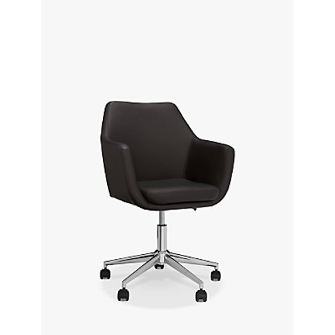 John Lewis & Partners Reid Faux Leather Office Chair