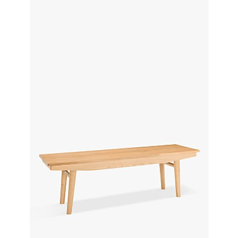 House By John Lewis Bow 4 Seater Dining Bench