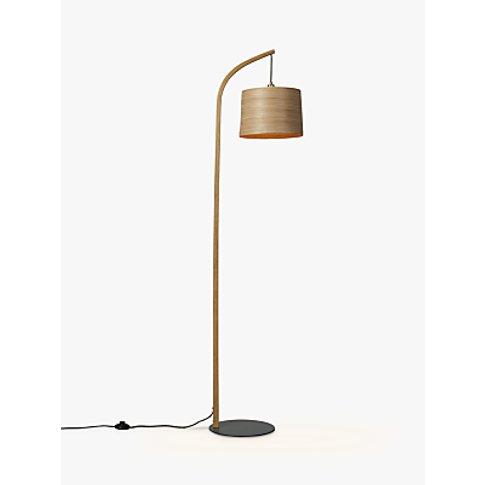 Tom Raffield Mullion Grey Base Floor Lamp