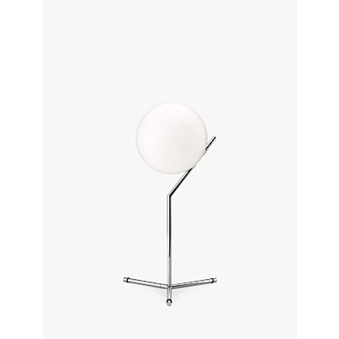 Flos Ic T1 High Table Lamp, 20cm, Polished Chrome
