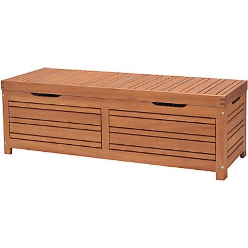 John Lewis & Partners Venice Storage Box And Bench, ...