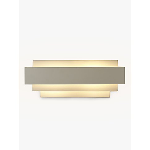 John Lewis & Partners Mezze Large Metal Wall Light, ...