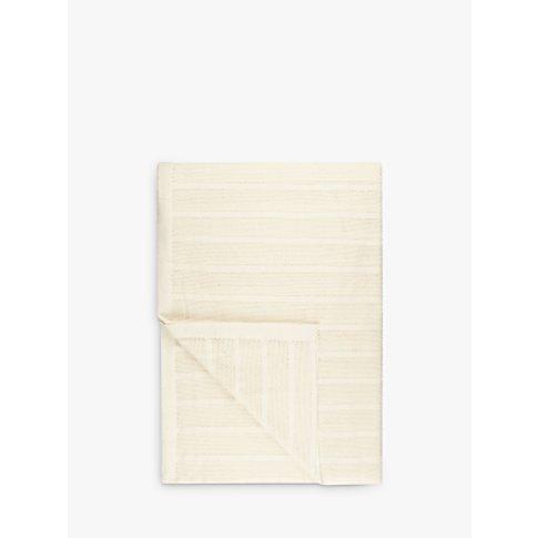 John Lewis & Partners Aircell Blanket, Ecru