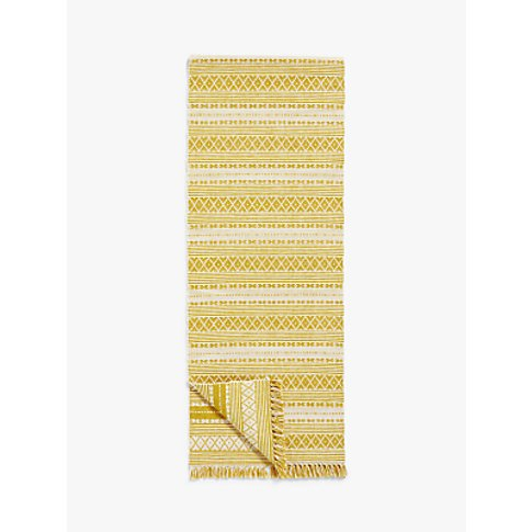 John Lewis & Partners Bombay Table Runner, Saffron, ...