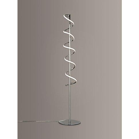 John Lewis & Partners Zena Led Twist Floor Lamp, Pol...