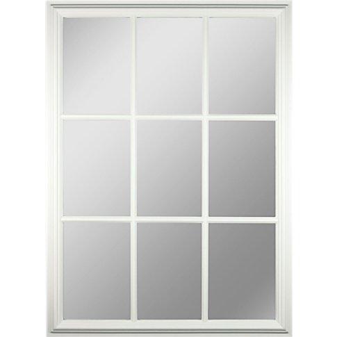 Croft Collection Window Pane Rectangle Mirror, H112 ...