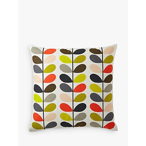 Orla Kiely Linear Stem Cushion, Multi