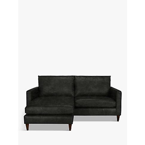 John Lewis & Partners Bailey Leather LHF Chaise End ...