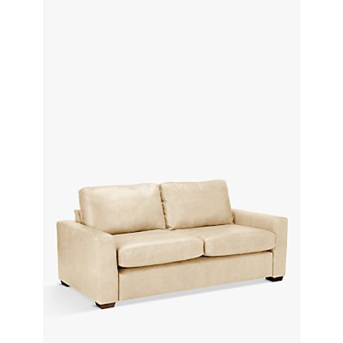 House By John Lewis Oliver Large 3 Seater Leather So...