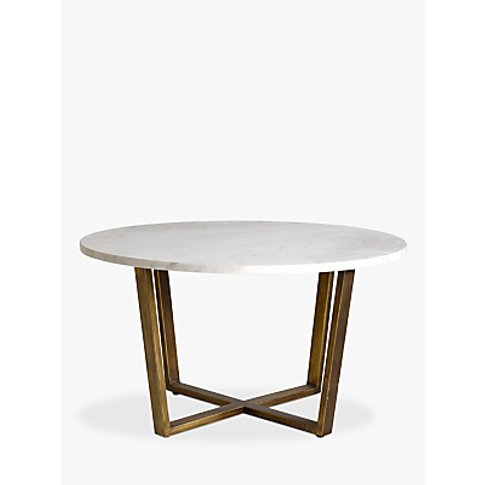 Hudson Living Cleo Coffee Table, Marble