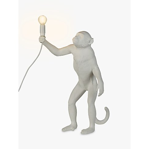 Seletti Standing Monkey Table Lamp, White