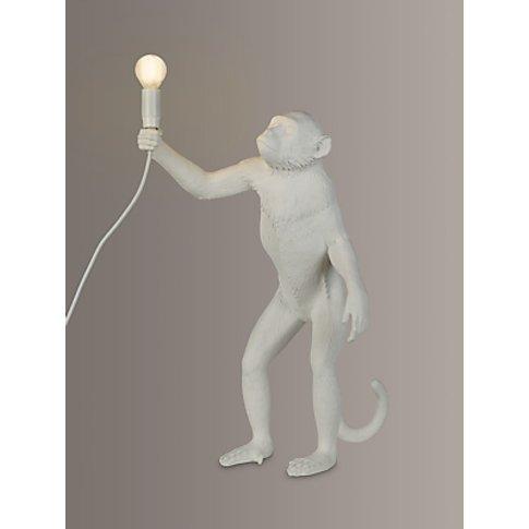 Seletti Standing Monkey Table Lamp, White