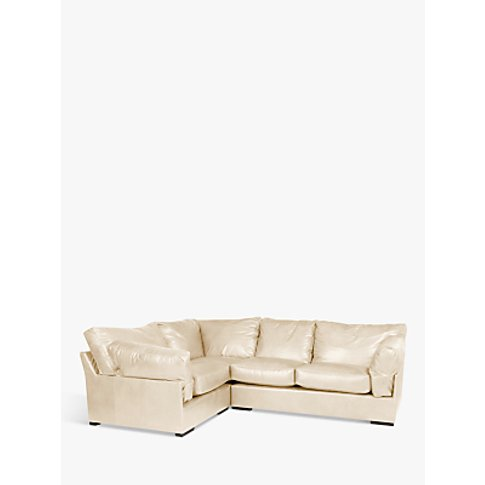 John Lewis & Partners Java Lhf Corner Leather Sofa, ...